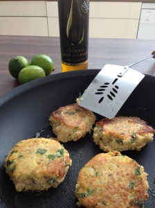 Lime & dill salmon fishcakes